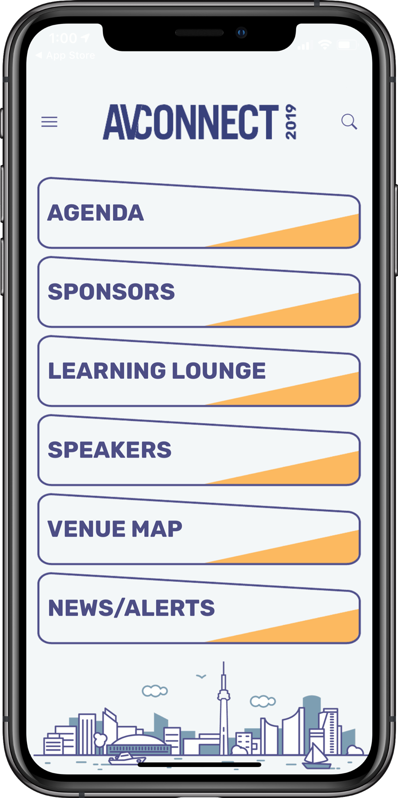 AudienceView AVConnect Users Conference App